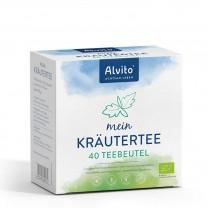 Alvito mein KräuterTee Filterbeutel - BIO 80g