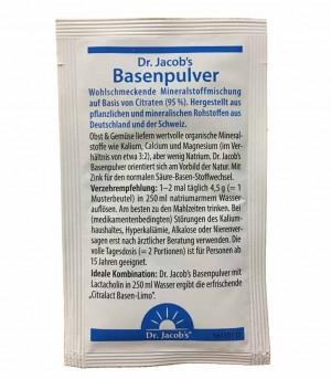 Dr.Jacobs Basenpulver Produktprobe