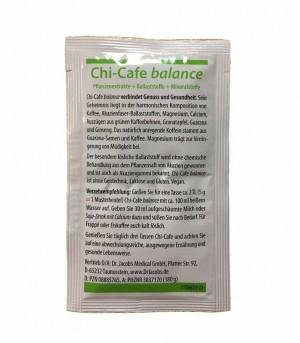 Dr.Jacobs Chi-Cafe balance Produktprobe