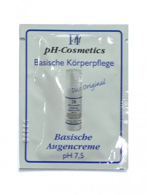 pH-Cosmetics Basische Augencreme pH 7,5 Produktprobe