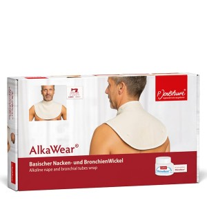 Jentschura Basischer Nacken- und BronchienWickel AlkaWear Gr. 1: 70-85cm