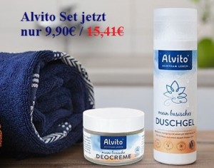 Sonderangebot: Alvito mein basisches Duschgel + Deo