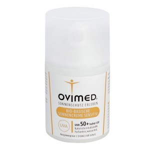 Ovimed Bio-Basische Sonnencreme Sensitive LSF 50+ 50ml