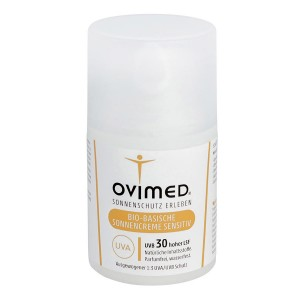 Ovimed Bio-Basische Sonnencreme Sensitive LSF 30 50ml