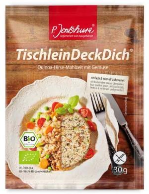 Jentschura TischleinDeckDich BIO Produktprobe