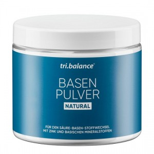 tri.balance Basenpulver Natural