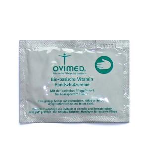 OVIMED Bio Vitamin Handschutzcreme pH 8,0 Produktprobe