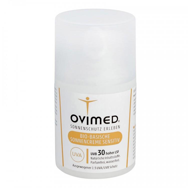 Ovimed Bio-Basische Sonnencreme Sensitive LSF 30 50ml