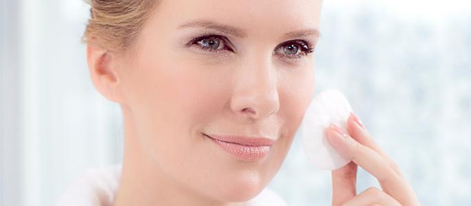 Basische Gesichtspflege