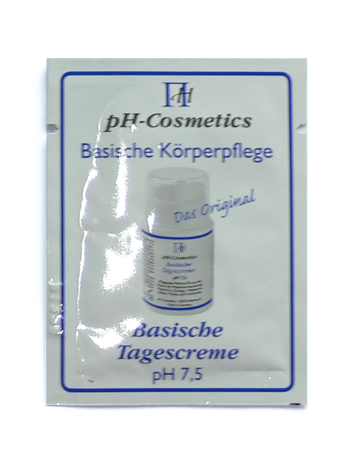 pH-Cosmetics Basische Tagescreme pH 7,5 Produktprobe