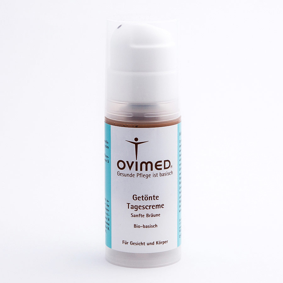 OVIMED Bio Getönte Tagescreme Sanfte Bräune pH 8,0