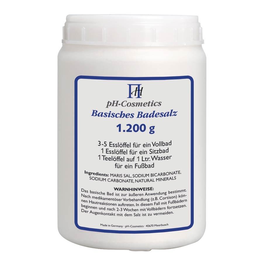 pH-Cosmetics Basisches Badesalz 1200g