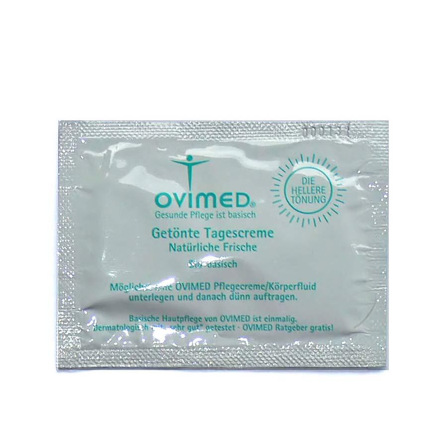 OVIMED Bio Getönte Tagescreme Natürliche Frische pH 8,0 Produktprobe