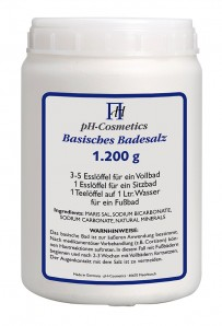 pH-Cosmetics Basisches Badesalz