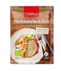 Jentschura TischleinDeckDich BIO - Produktprobe