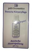 pH-Cosmetics Basische Haarspülung pH 7,5 - Produktprobe