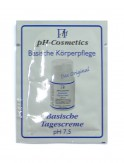 pH-Cosmetics Basische Tagescreme pH 7,5 - Produktprobe