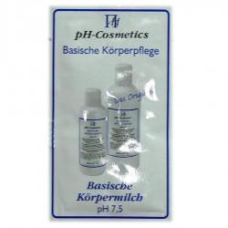 pH-Cosmetics Basische Körpermilch pH 7,5 Produktprobe